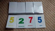 Trabajamos los números con el LIBRO MÓVIL DE LOS NÚMEROS