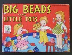 Big Beads for Little Tots circa 1950 by B-Kay, via Flickr
