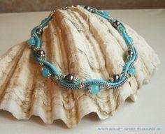 'Frozen Waves' necklace