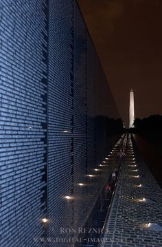 Vietnam Wall, Washington Monument, Washington, DC. (I have three friends on the Wall and whenever I'm in DC I make it a point to visit and say a prayer.