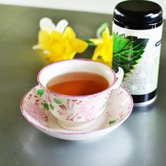 The Spring Seasonal Tea blend from Beekman 1802