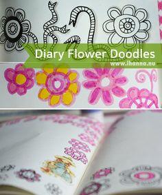 Diary Flower Doodles