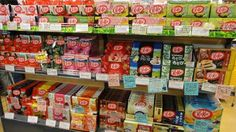 In Japan you can eat EVERY flavor of Kit Kat.