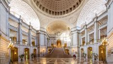 These Wedding Locations Are Perfect for Architecture Lovers Photos | Architectural Digest #CityHallWedding