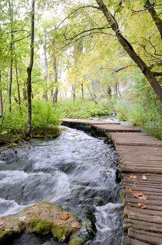 National park Plitvicka jezera, Croatia