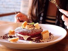 COCONUTS HOT SPOT — Their red velvet pancakes might just be the most Instagrammed food in Bali at the moment. A photo posted by @thefatturtlebali on Mar 5, 2015 at 6:51pm PST When something looks that good in both the professionally photographed official pictures AND on countless amateur #foodporn pics, we just had to check out the Fat Turtle specialty ourselves (and how great is that name?). A photo posted by @thefatturtlebali on Feb 26, 2015 at 7:13pm PST The place itself is not that small…