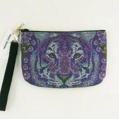 Purple Tiger Wristlet  back in stock! http://ift.tt/1LMhqo9 #tigers #giftideas #geauxtigers #lsu #stockingstuffer #purses #purple #louisiana  #fashion #batonrouge #tiger #lafayette #cat #purse #makeup #design #traveler #etsy  #fireboltcreations #etsyshop #etsyseller #accessory #shopping  #animal #woman #travelgift #love #bag #vacation #vegan