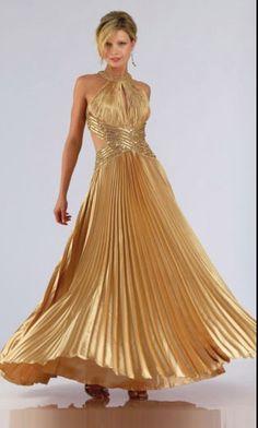 fe949f1d19af6 Elegant Prom Dresses, Formal Dresses, Wedding Dresses, Gold Cocktail Dress,