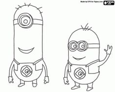 Despicable Me Minion Coloring Pages To Print