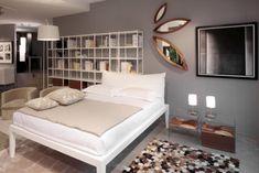 designer wandspiegel holz deko schlafzimmer unterschiedliche größen