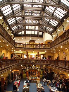 jenners main hall, edinburgh