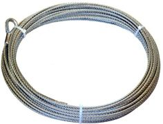WARN 38312 Winch Rope   516 in x 125 ft ** Read more at the image link. (It is an affiliate link and I receive commission through sales) Winch Accessories, Rv Parts And Accessories, Nissan Hardbody, Winch Rope, How To Make Rope, Cable Wire, Home Hardware, Steel, Jewelry
