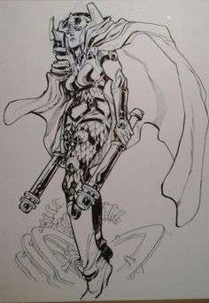 Big Barda by Eric Canete *
