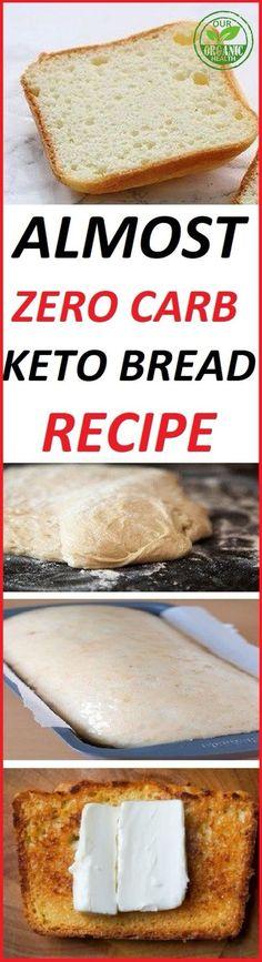 ALMOST ZERO CARB KETO BREAD RECIPE