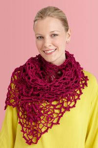 Irish Crochet Shawl. Free pattern. Can't remember if I already posted this one.  If so, it's worth repeating.