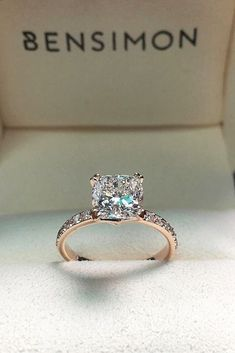 Most Popular Engagement Rings For Women ❤️ See more: www.weddingforwar... #weddings