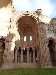 Santa Maria de la Moreruela,( romanic monastery), Zamora (Spain)