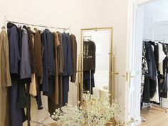 Vintage Clothing Rental Archive showroom in Madrid by-appointment only.