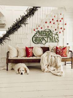 DIY Christmas Ornament Gallery Wall - Liz Marie Blog