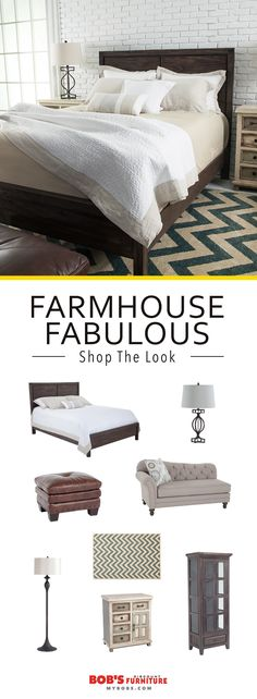 Shop this fabulous #farmhouse look for your home, only at MyBobs.com!