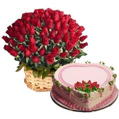 Roses and heart shape would an amazing for for your sweet heart