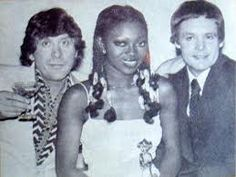Mickey Most, Patti Boulaye and Tony Hatch; New Faces