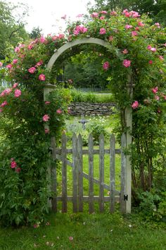 The Rose Arbor Entrance