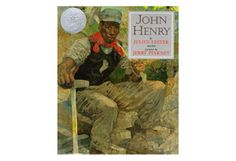 John Henry  By Julius Lester; illustrations by Jerry Pinkney      This retelling adds some modern twists to the classic legend of the African-American hero who races against a steam drill to cut a path through a mountain for the railroad.    Dial, 1994. ISBN: 9780803716063      Read more: http://www.oprah.com/oprahsbookclub/Books-for-6-to-9-Years-Old-2010-Kids-Reading-List/10#ixzz1rsis00mK