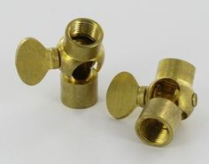 1/8F X 1/8F ips.  ADJUSTABLE SWIVEL BRASS W/ WING NUT ADJUSTMENT