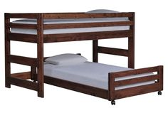 Sedona Junior Loft Bed W/Twin Caster Bed - Living Spaces