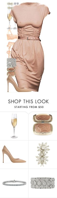 """""""Wonder."""" by quiche ❤ liked on Polyvore featuring Wine Enthusiast, Dolce&Gabbana, Jennifer Behr, Blue Nile and Cartier"""