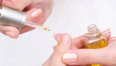 Cuticle Oil - olive oil/almond oil, vitamin E capsules/oil, essential oils (lavender, jojoba oils, etc). Apply to cuticle and under nails if your nails are long enough and massage Make Nails Grow, Grow Nails Faster, Take Off Acrylic Nails, Remove Acrylic Nails, Nail Manicure, Nail Polish, Gel Nail, Manicures, Remove Acrylics