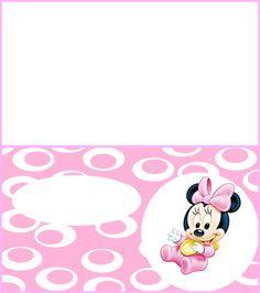 Kit de Minnie en su Primer Cumpleaños para Imprimir Gratis.