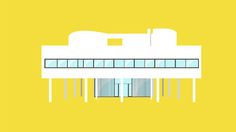 Iconic Houses Matteo Muci  A two-minute animated voyage through some of the most iconic masterpieces of modern architecture.