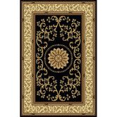 Found it at Wayfair - Noble Black Area Rug