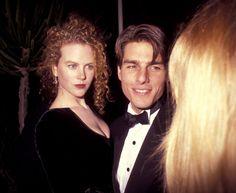 Nicole Kidman and Tom Cruise, March 1991