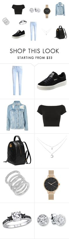 """""""fashionsquad"""" by latishapen on Polyvore featuring mode, Puma, Topshop, Helmut Lang, Gucci en Cole Haan"""