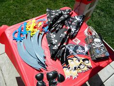 pirate theme party favors