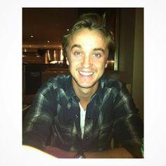 "Tom Felton on Instagram: ""@t22felton your smile is special. I love it! …"""