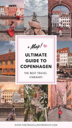 Ultimate travel guide to Copenhagen, Denmark. Travel Itinerary to Copenhagen #copenhagen #denmark
