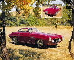 Ghia Supersonic Fiat 8V 1954