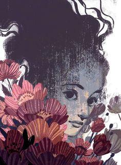 made by: Laura Bifano , illustration Graphic Illustration, Illustrations Posters, Amazing Art, Art Reference, Illustrators, Fantasy Art, Cool Art, Concept Art, Character Design