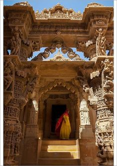 Amazing India, Hindus, Temple Architecture, Indian Temple, Jaisalmer, Rajasthan India, Traditional Dresses, Poster Size Prints, Framed Prints