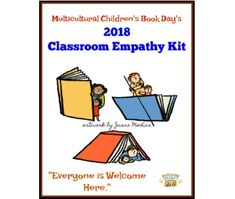 """FREE Teacher Classroom Empathy Kit - Multicultural Children's Book Day Sign up HERE to get your FREE Downloadable  Empathy Classroom Kit containing:  Book List – 18 books on Understanding Immigration and Refugees~ Classroom Empathy Activities ~ Empathy Poster – printable ~ Multicultural Children's Book Day Poster  Multicultural Children's Book Day eBook   Read Your World: A Guide to Multicultural Children's Books for Parents and Educators is a """"Best Of"""" list of diversity books lists for…"""