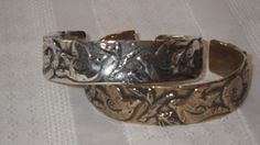 """Gift Within Cuff- We are each given our own talents from God wear as a reminder to """"keep ablaze the gift of God in you.""""(2Tim1:6) on Etsy, $80.00"""