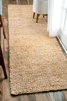 A BEGINNER S GUIDE TO NATURAL FIBER RUGS   Surrey   Pinterest     Bring the rustic and natural look to your space with this natural shade  jute rug