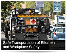 Arrive Alive South Africa | Safe Transportation of Bitumen and Workplace Safety