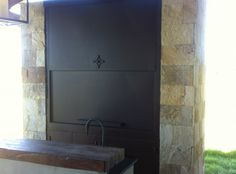 Puertas Guillotinas en chapa negra Julius i Argentine Grill, Wood Fired Oven, Firewood, Indoor, Home Decor, Bar Grill, Pools, Conservatory Decor, Doors