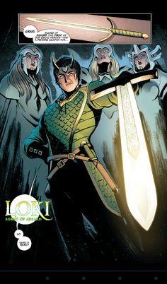 loki agent of asgard comic - Google Search