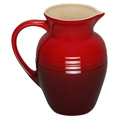 Le Creuset Pitcher in Cherry